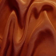 Silk Crepe de Chine Copper