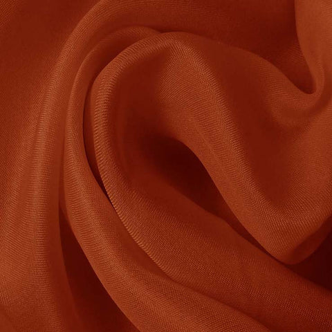 Silk Satin Face Organza Copper
