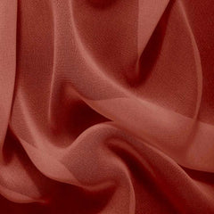 Silk Chiffon Copper