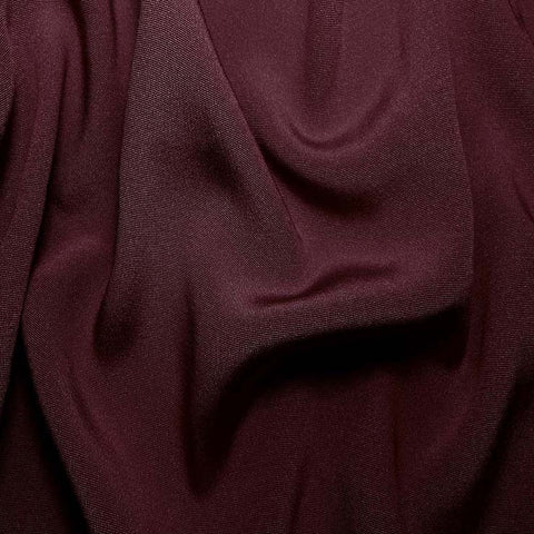 Silk Crepe Back Satin Amethyst