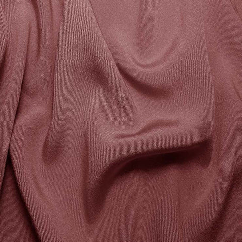 Silk Crepe Back Satin Mauve Shadow
