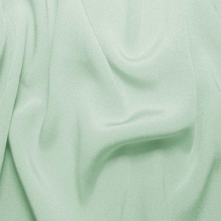 Silk Crepe Back Satin Whisper Green
