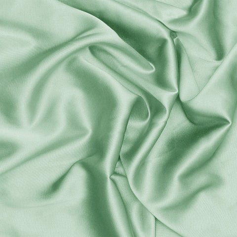 Silk Charmeuse Whisper Green