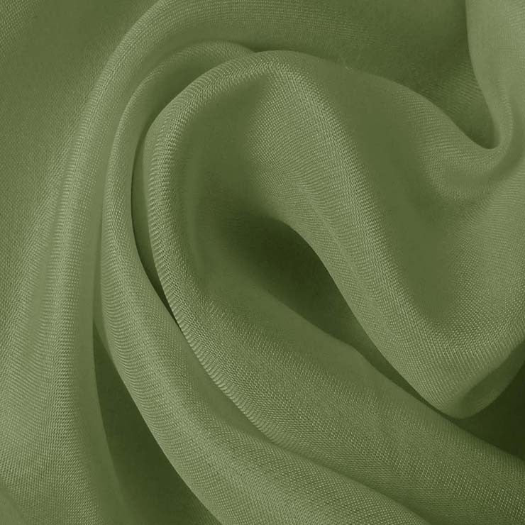 Silk Satin Face Organza Green Tea