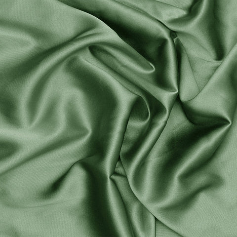 Silk Stretch Charmeuse Green Tea