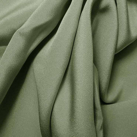 Silk 4 Ply Woven Crepe Green Tea