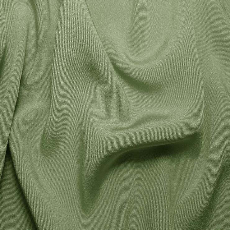 Silk Crepe Back Satin Green Tea