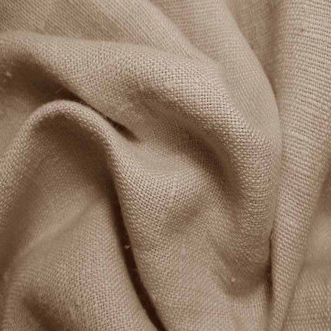 Heavyweight Linen 28 Coffee - NY Fashion Center Fabrics
