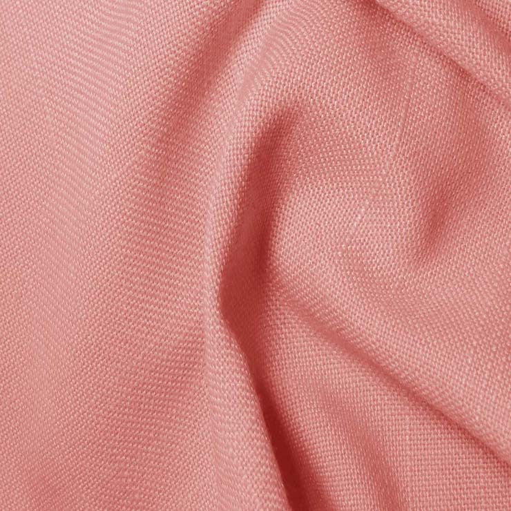 Polyester/Viscose Blend Linen Italiano 28 Rose