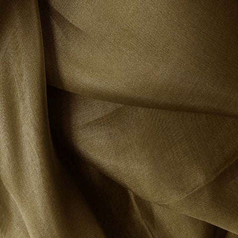 Silk Organza Walnut Brown