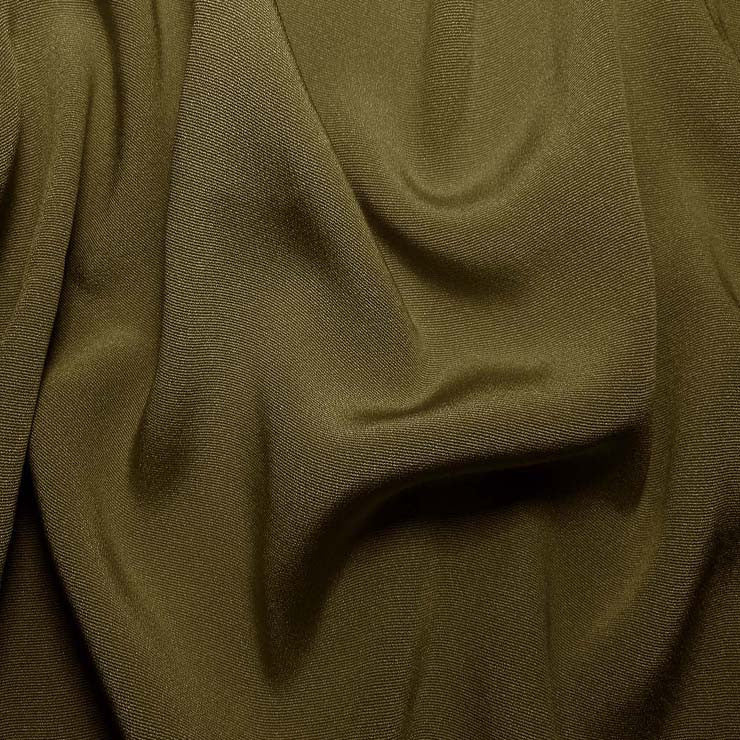 Silk Crepe Back Satin Tree Green