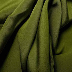 Silk 4 Ply Woven Crepe Grass Green