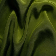 Silk Crepe de Chine Grass Green