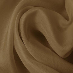 Silk Satin Face Organza Khaki