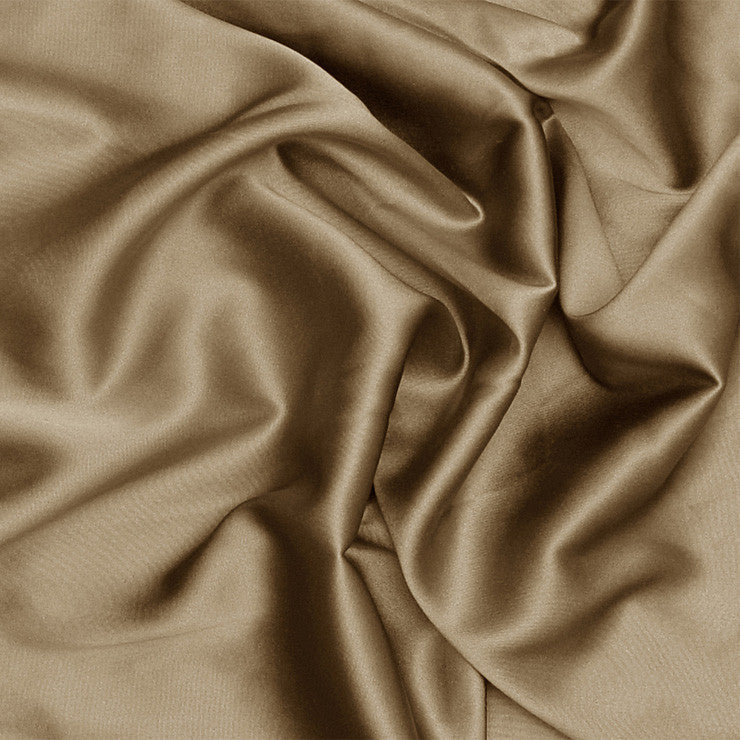 Silk Stretch Charmeuse Khaki