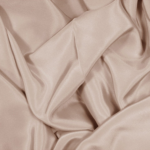 Silk Stretch Crepe De Chine Khaki