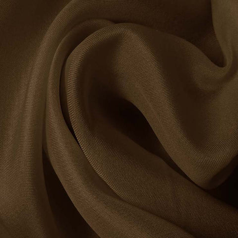 Silk Satin Face Organza Twilight Muave
