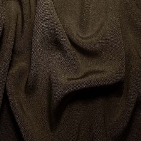 Silk Crepe Back Satin Olive Gray