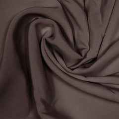Silk Stretch 4 Ply Crepe Deep Brown