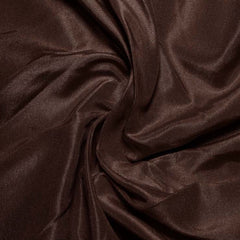 Silk Habotai Deep Brown