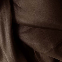 Silk Organza Deep Brown