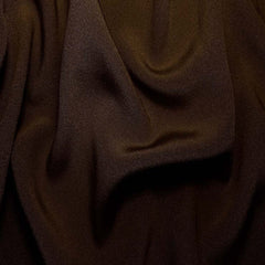 Silk Crepe Back Satin Bronze Brown