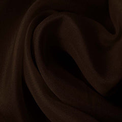 Silk Satin Face Organza Bronze Brown