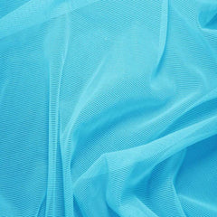Nylon/Spandex Sheer Stretch Mesh 29 ArabianBlue - NY Fashion Center Fabrics