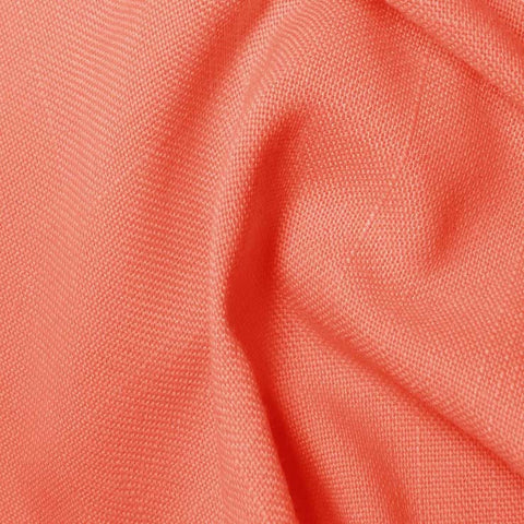 Polyester/Viscose Blend Linen Italiano 29 Salmon