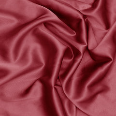 Silk Stretch Charmeuse Cherry Red