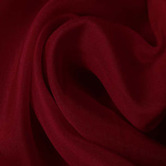 Silk Satin Face Organza Cherry Red