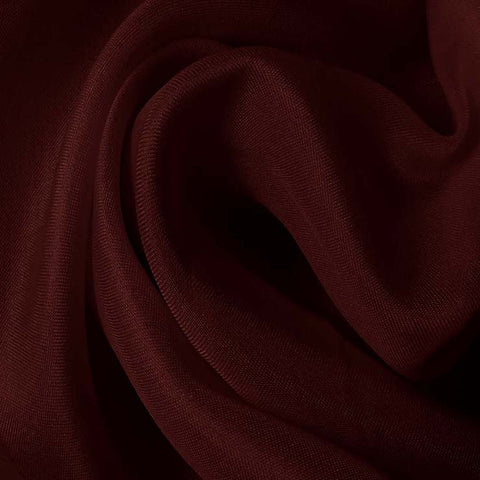 Silk Satin Face Organza Wine