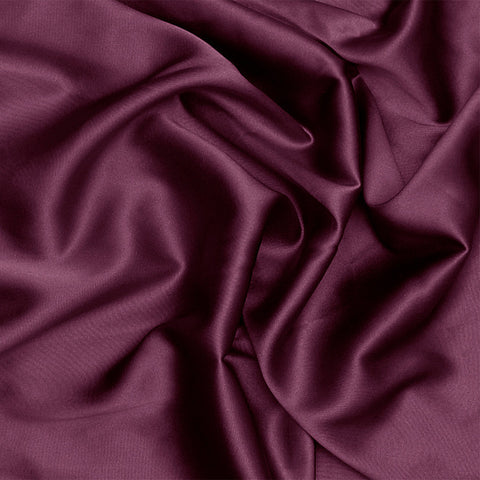 Silk Stretch Charmeuse Prune