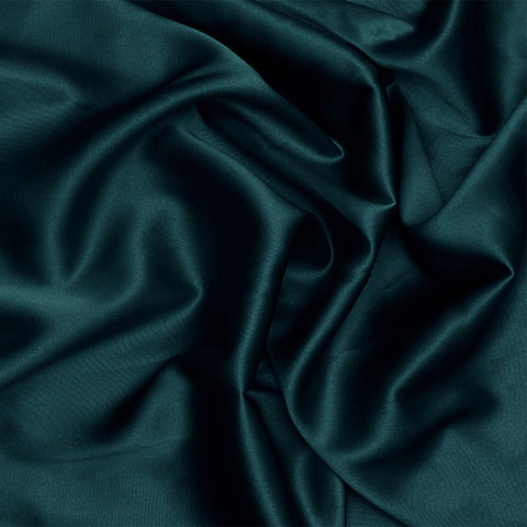 Silk Charmeuse Navy Blue