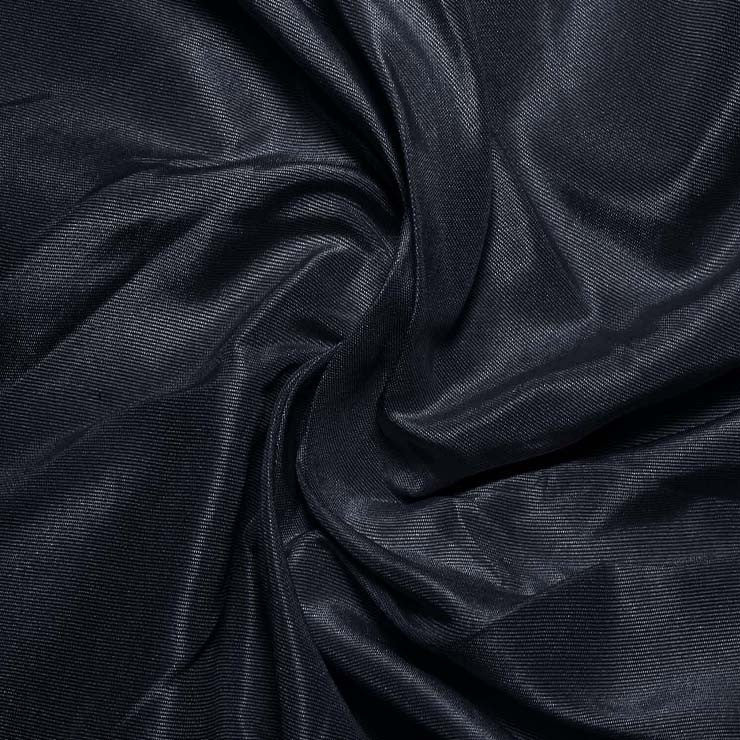 Silk Habotai Navy Blue