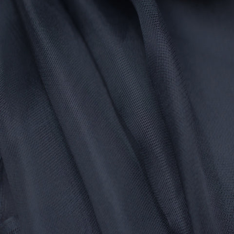 Silk Mesh Organza Navy Blue