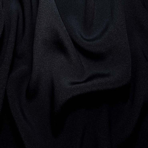 Silk Crepe Back Satin Dark Navy