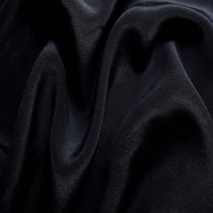 Silk Crepe de Chine Dark Navy