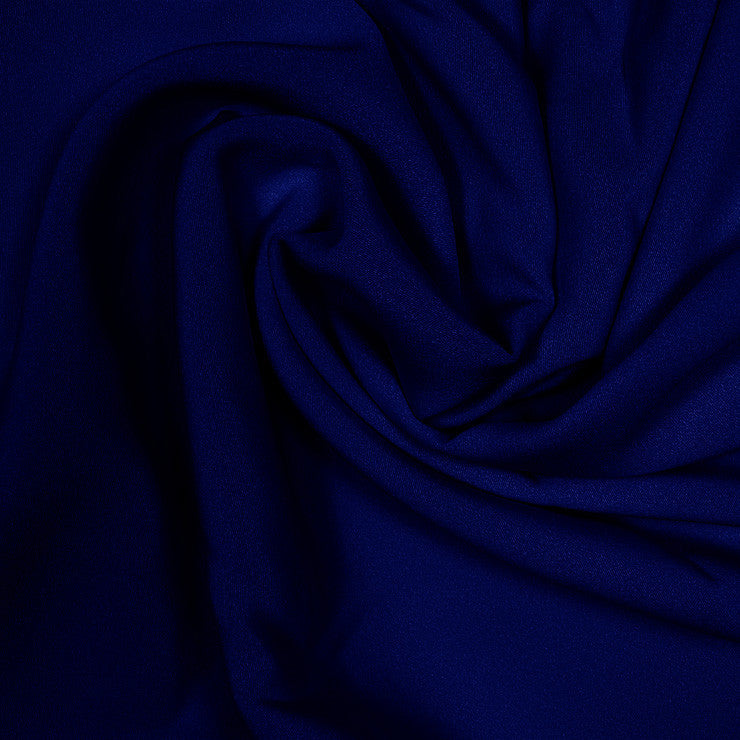 Silk Stretch 4 Ply Crepe Dark Navy