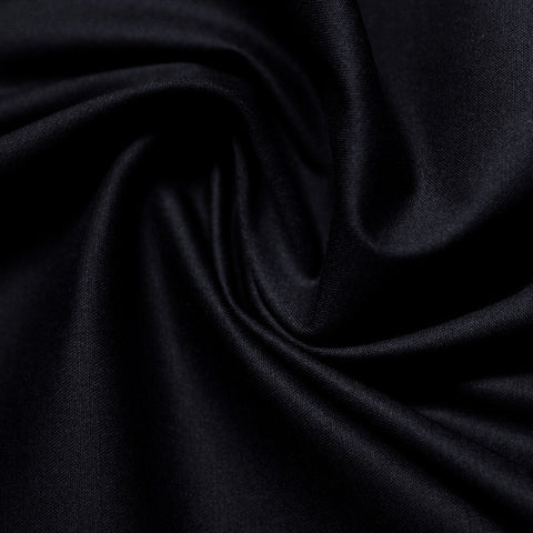 Cotton Stretch Sateen 294 Dark Night - NY Fashion Center Fabrics