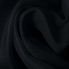 Silk Satin Face Organza Dark Navy