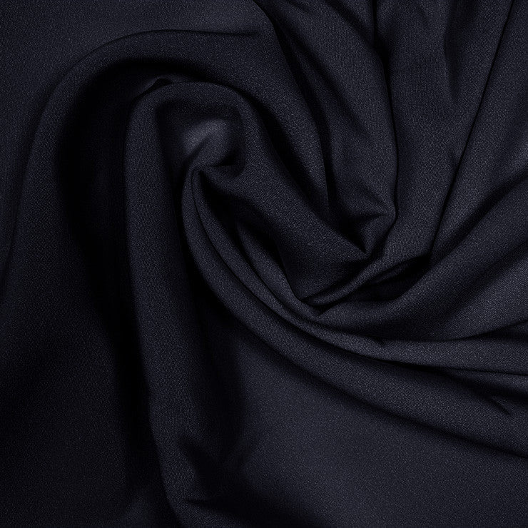 Silk Stretch 4 Ply Crepe Black