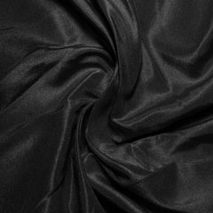 Silk Habotai Black