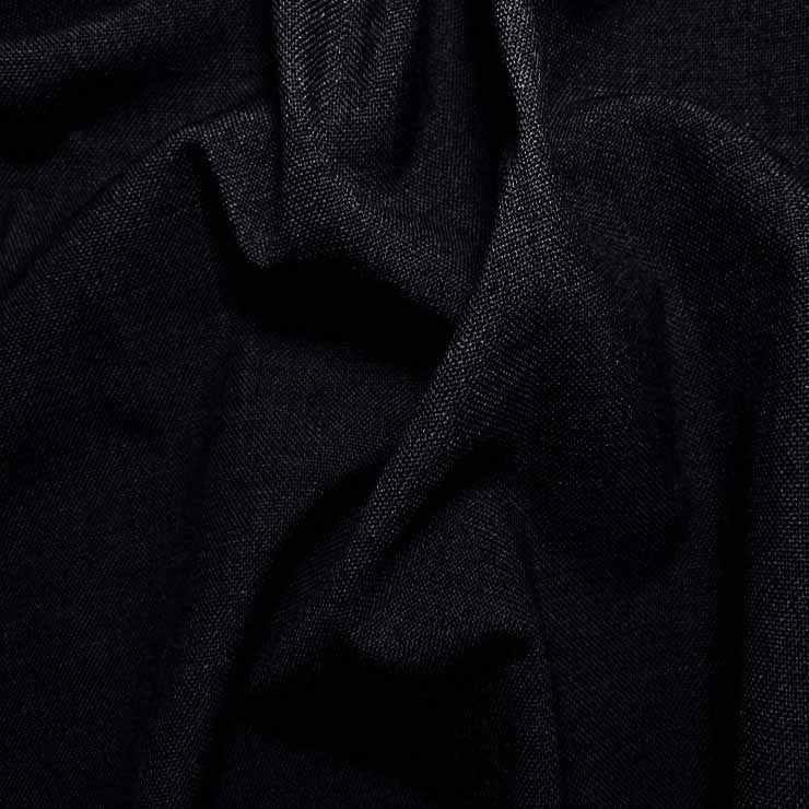 3 Ply Wool/Poly Blend Suiting 30 Dark Navy - NY Fashion Center Fabrics