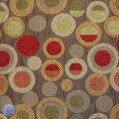 Cotton Blend Abstract Dot Jacquard 3009 - NY Fashion Center Fabrics