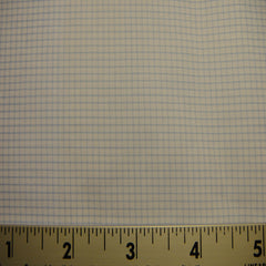 100% Cotton Fabric Checks #7 31 KO 3125 Y D8015LBL - NY Fashion Center Fabrics