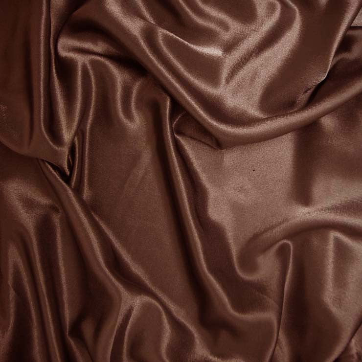 Polyester Crepe Back Satin 32 Brown
