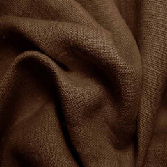 Heavyweight Linen 32 Chocolate - NY Fashion Center Fabrics