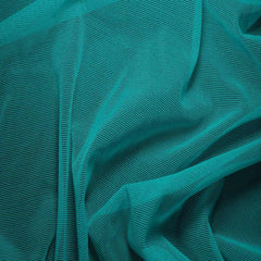 Nylon/Spandex Sheer Stretch Mesh 35 Peacock