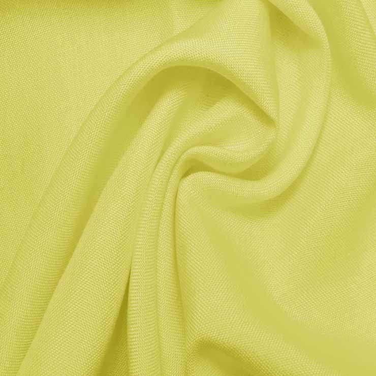 Super Fine Italian Douppioni Fabric 3503 Lemon Peel